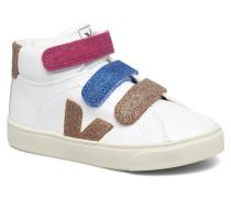 Esplar Mid Small Velcro Sneaker in weiß