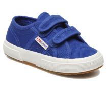 2750 J Velcro E Sneaker in blau