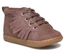 Bouba Lace Fringe Stiefeletten & Boots in rosa