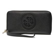 Carly Large Zip Around Portemonnaies & Clutches für Taschen in schwarz