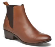 Becca Snake Leather Stiefeletten & Boots in braun