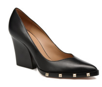 Escarpin Clous Pumps in schwarz
