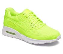 W Air Max 90 Ultra Plush Sneaker in gelb