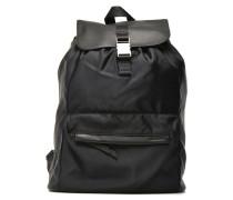 Leather Nylon Bag N° 28 Rucksäcke für Taschen in schwarz