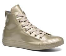 Ctas Metallic Rubber Hi W Sneaker in goldinbronze