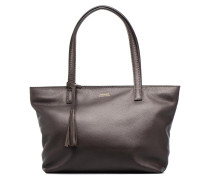 Eden zippé Handtasche in braun