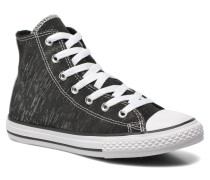 Chuck Taylor All Star Hi Sneaker in schwarz