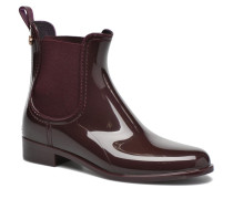 Comfy Stiefeletten & Boots in weinrot