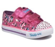 Shuffles Glitter N Glitz Little Sneaker in rosa