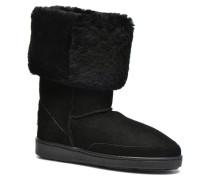 Tall Sheepskin Pug Boot W Stiefeletten & Boots in schwarz