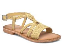 Jacinthe Sandalen in beige