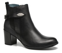 GLOUPI #Mult Vo Milled NOIR ~Doubl & 1ere CUIR Stiefeletten Boots in schwarz