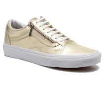 Old Skool Zip Sneaker in goldinbronze