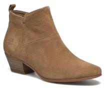 Carleton Side Zip Ankle Stiefeletten & Boots in braun