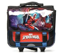 Cartable 38cm Trolley SpiderMan Schulzubehör für Taschen in rot