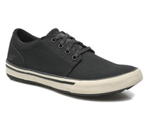 Esteem canvas Sneaker in schwarz