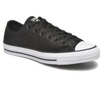 Ctas Stingray Metallic Ox Sneaker in schwarz