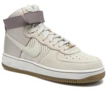 Wmns Air Force 1 Hi Prm Sneaker in beige