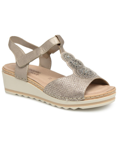 Zaria R6054 Sandalen in silber