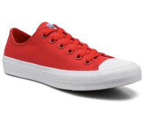 SALE 37%. Chuck Taylor All Star II Ox M Sneaker in rot