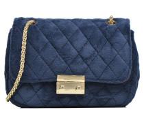 Crossbody Omia Velvet Handtaschen für Taschen in blau