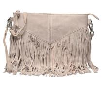 Bea Suede Crossover Handtaschen für Taschen in beige