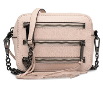 4 ZIP MOTO CAMERA BAG Handtaschen für Taschen in rosa