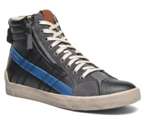 DString Plus Sneaker in schwarz