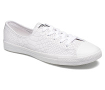 Chuck Taylor All Star Fancy Ox W Sneaker in weiß