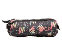 Double Pencil case Schulzubehör für Taschen in mehrfarbig
