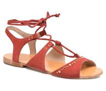 Osier Sandalen in rot