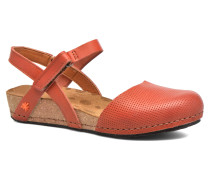 Pompei 739 Sandalen in orange