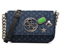 G Lux Petite Crossbody Flap Handtaschen für Taschen in blau