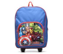 Avengers Wheeled Backpack Schulzubehör für Taschen in blau