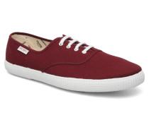 M Sneaker in weinrot