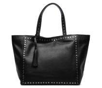 CABAS PARISIEN M Clouté Cuir grainé Handtaschen für Taschen in schwarz
