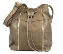Imi Leather Tighten Bag Handtasche in grün