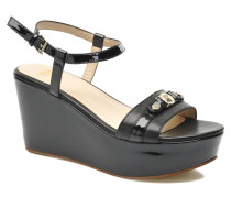 Allegra Sandalen in schwarz