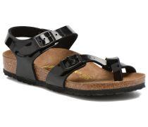 TAORMINA Sandalen in schwarz