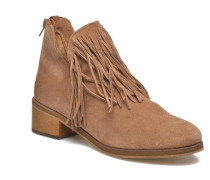Laure Leather Boot Stiefeletten & Boots in braun