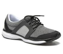 Push Sneaker in schwarz
