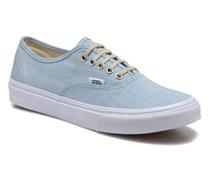 Authentic Slim W Sneaker in blau