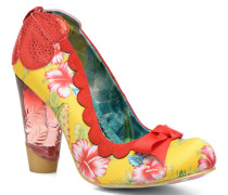 Delighlty Floral Pumps in gelb