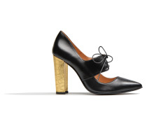 Flore Thirties #10 Pumps in schwarz