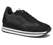 Eden Jogger Split in Woolie Sneaker schwarz