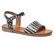 Nikky Sandal Eyeliner Sandalen in schwarz