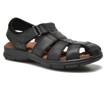 Sherpa Sandalen in schwarz