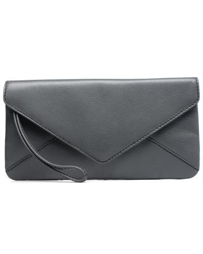 Loxwood Damen Pochette Lana Handtasche in grau Günstigsten Preis NMjPE96x