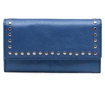Portefeuille Clouté Portemonnaies & Clutches für Taschen in blau