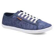 Sunny Plain Sneaker in blau